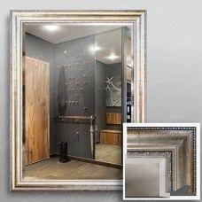 Зеркало 4441Ф в багетной раме 80х60 см универсальное с фацетом