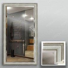 Зеркало 4325Ф в багетной раме 90х50 см с фацетом