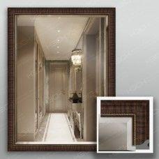 Зеркало 4328Ф в багетной раме 80х60 см универсальное
