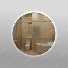 Зеркало 329ск круглое с фоновой LED подсветкой 9,6 Вт/м 70 см с сенсорным выключателем