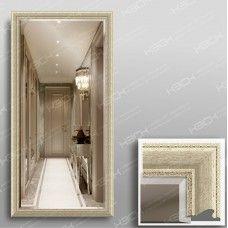 Зеркало 1035Ф в багетной раме 140х70 см универсальное