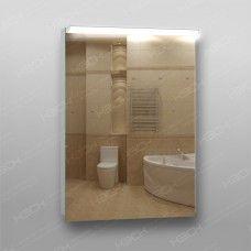 Зеркало 210 с LED подсветкой 9,6 Вт/м 70 x 50 см с кнопочным выключателем