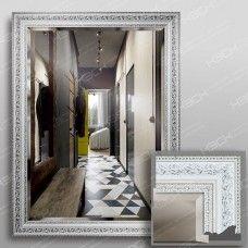 Зеркало 3562Ф в багетной раме 80х60 см универсальное с фацетом