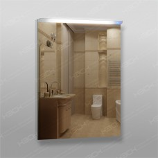Зеркало 210сп с LED подсветкой 9,6 Вт/м 80 x 60 см с сенсорным выключателем